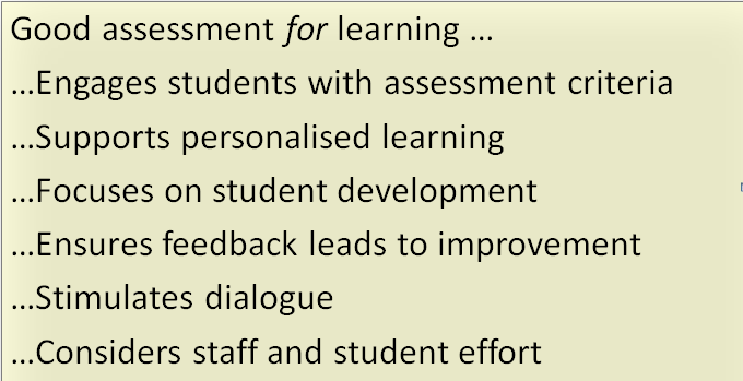 the principles of assessment in learning Assessment for learning: research-based principles to guide classroom practice  assessment reform group 2002 10 principles.